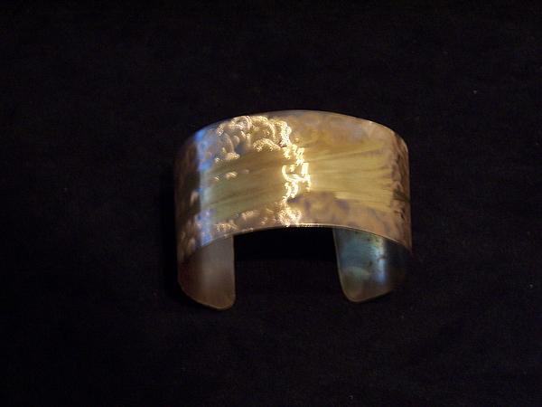 Bracelet Jewelry - Small Brass Bracelet by Jeff  Williams