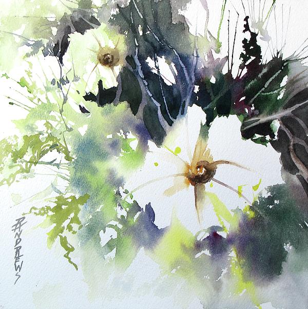 Watercolor Painting - Small Wonders by Rae Andrews