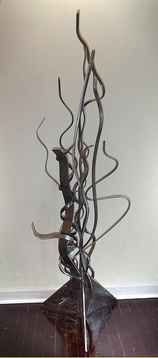 Steel Sculpture - Smoke by Eric McLaren