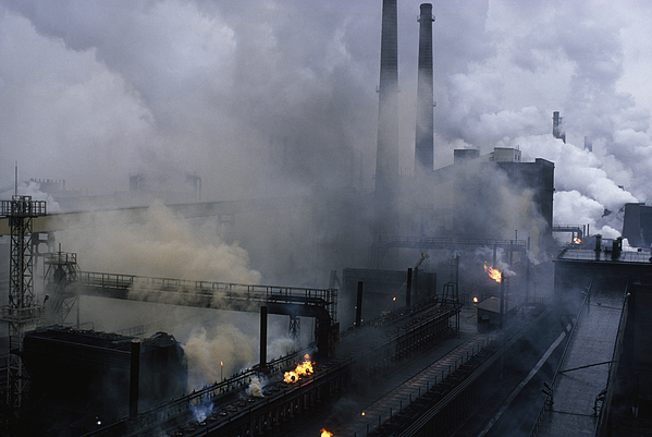 Europe Photograph - Smoke Spews From The Coke-production by James L Stanfield