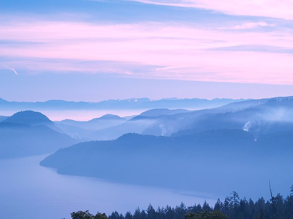 Pacific Northwest Photograph - Smokey Fiord by James Johnstone