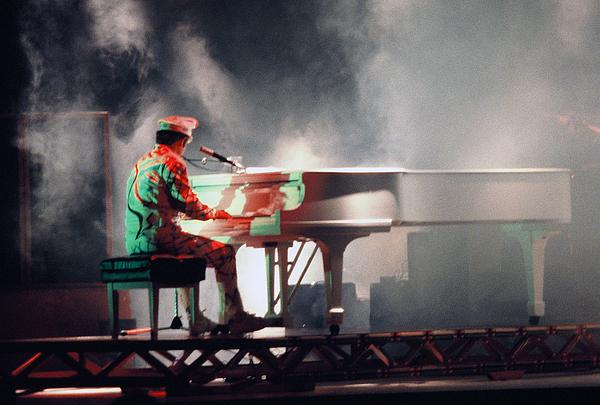 Elton John Photograph - Smokin Elton by Scott Smith