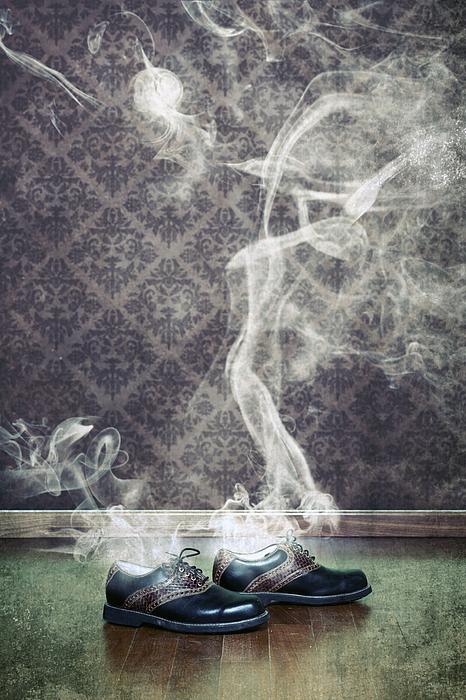 Shoe Photograph - Smoky Shoes by Joana Kruse