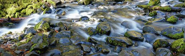 Water Photograph - Smooth Brook Panorama by Rick Lawler