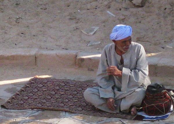 Egypt Photograph - Snake Charmer by John Malone