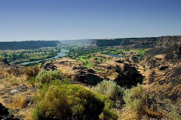 Snake River Canyon Photograph - Snake River Canyon by Brendon Bradley