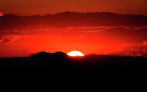 Snake River Plain Photograph - Snake River Plain Sunset by Greg Norrell