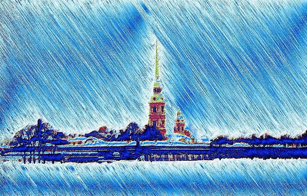 Snow Morning Photograph by Yury Bashkin