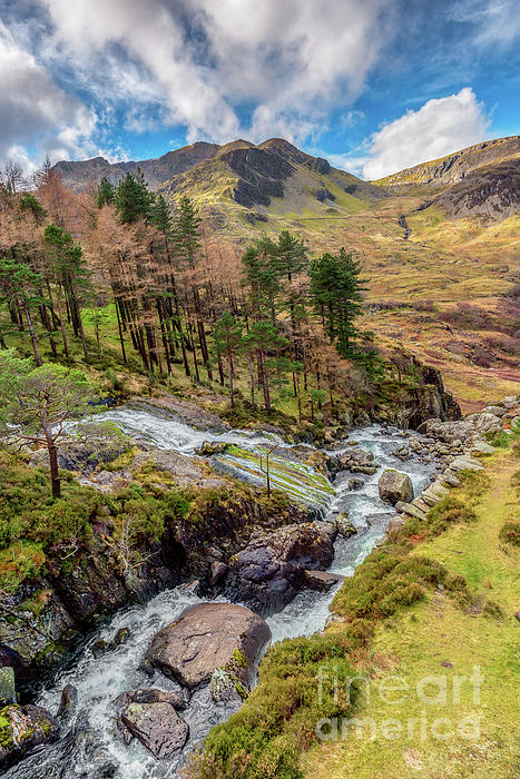 Snowdonia Photograph - Snowdonia Landscape Winter by Adrian Evans