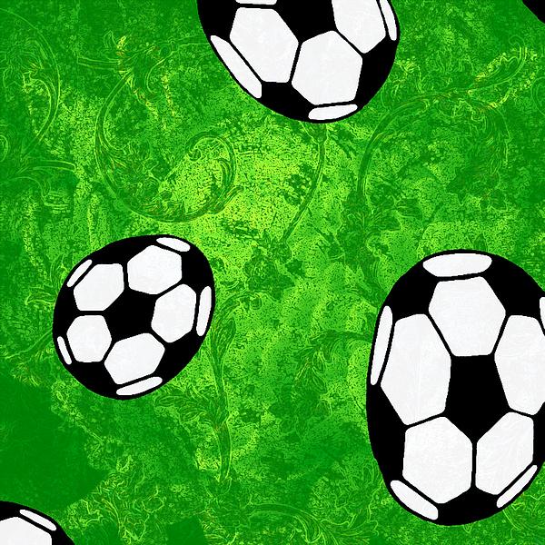Soccer Digital Art by Nils Denker