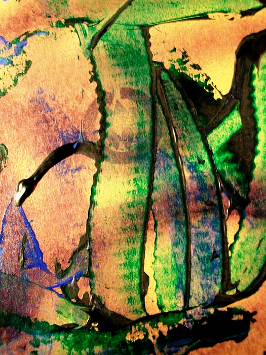 Abstract Painting - Social Climbers by Bruce Combs - REACH BEYOND