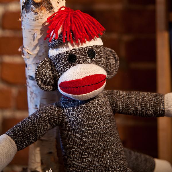 Toy Photograph - Sock Monkey by Edward Myers