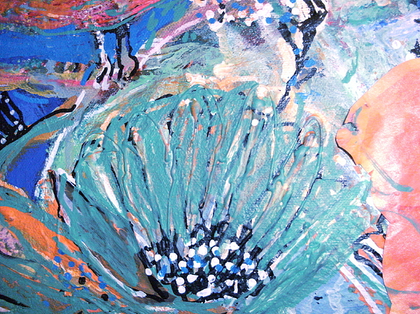 Flower Painting - Soft And Hopeful by Anne-Elizabeth Whiteway
