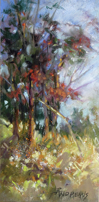 Landscape Painting - Softly, Softly by Rae Andrews
