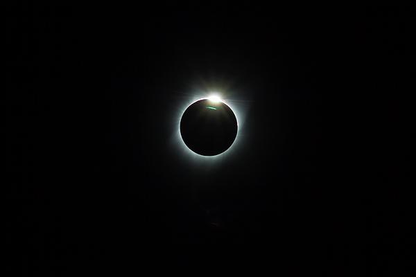 Solar Photograph - Solar Eclipse 2017 by David Gn