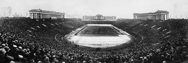 20th Century Photograph - Soldier Field, Chicago, Illinois, Circa by Everett