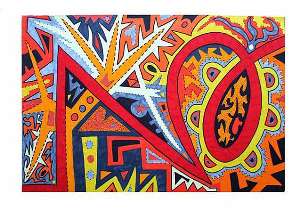 Spirit Painting - Soldier Of Fortune by Elizabeth Urabe