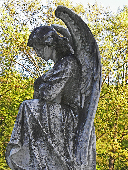 Angels Photograph - Someone To Watch Over Me by Elizabeth Hoskinson