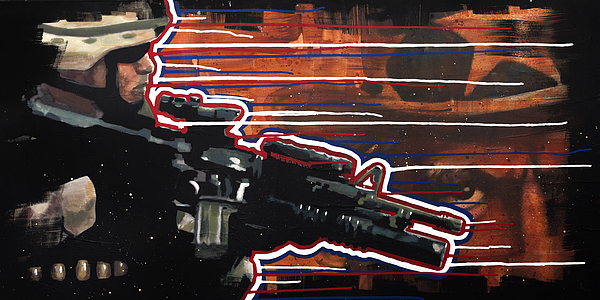Us Army Painting - Son Of Sam by Michael Figueroa
