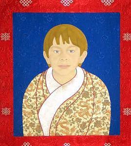Portraits Painting - Sonam-order by Leslie Nguyen Temple