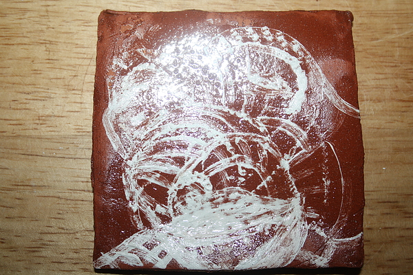 Jesus Ceramic Art - Sources -tile by Gloria Ssali