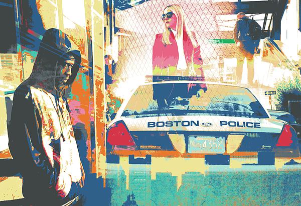 Boston Mixed Media - South End by Shay Culligan