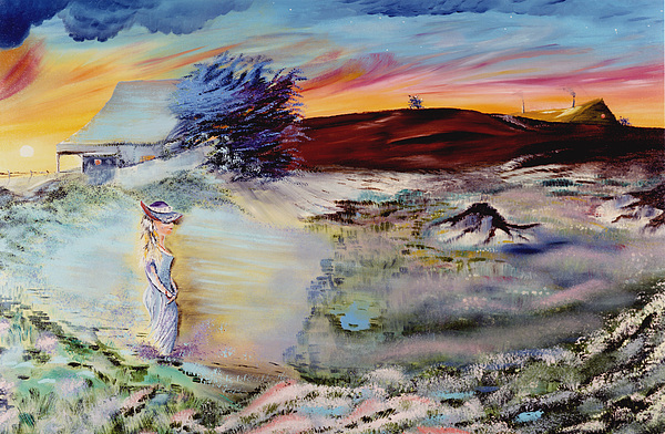Prints Painting - Southern Nights by Richard Barham