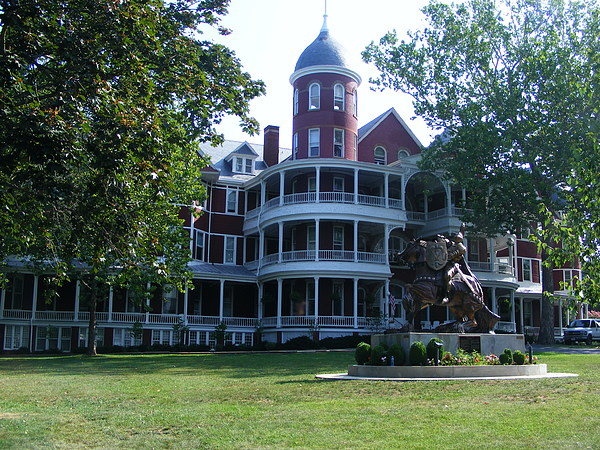 Buena Vista Photograph - Southern Virgiinia College by Eddie Armstrong