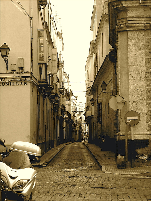 Spain Photograph - Spain Streets by Carly Athan