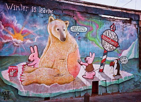 Joan Carroll - Spanish Graffiti Panel