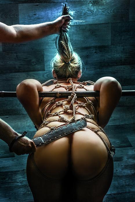 Spanking Photograph - Spanking - Fine Art Of Bondage by Rod Meier