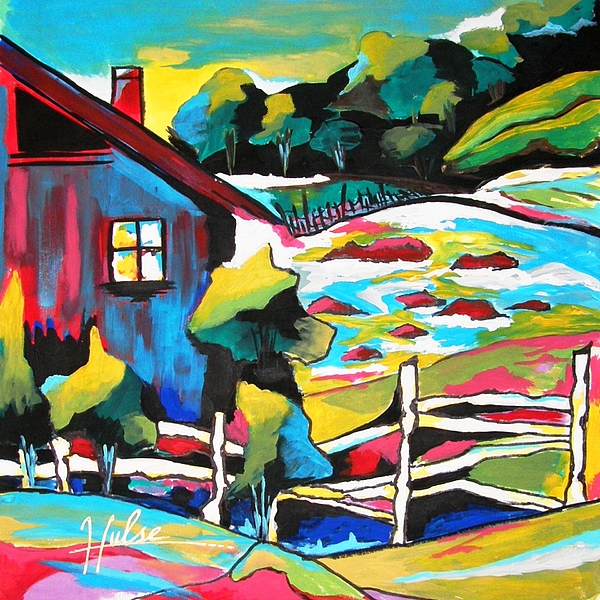 Landscape Painting - Special Place by Gina Hulse