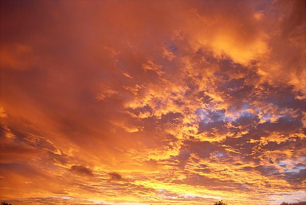 Cloud Photograph - Spectacular Sunrise by Mary Van de Ven - Printscapes