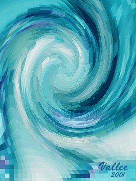 Spinning Naked Digital Art by Vallee Johnson