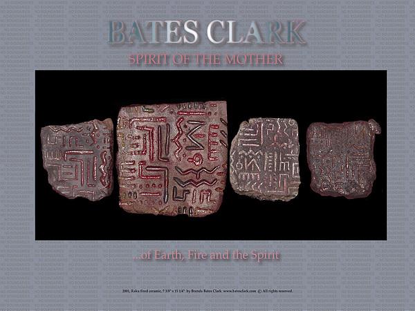 Digital Print Digital Art - Spirit Of The Mother by Bates Clark