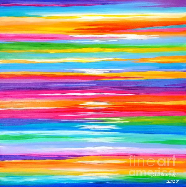 Spirit Painting - Spirit by Sandra Lett