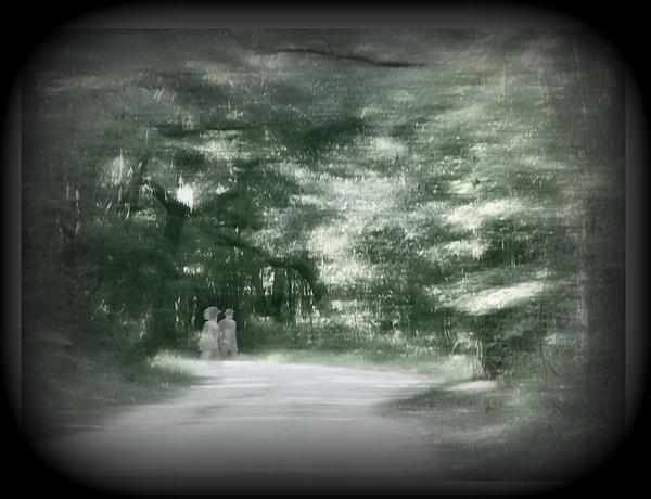 Ghost Digital Art - Spirit Walk by Leslie Revels Andrews
