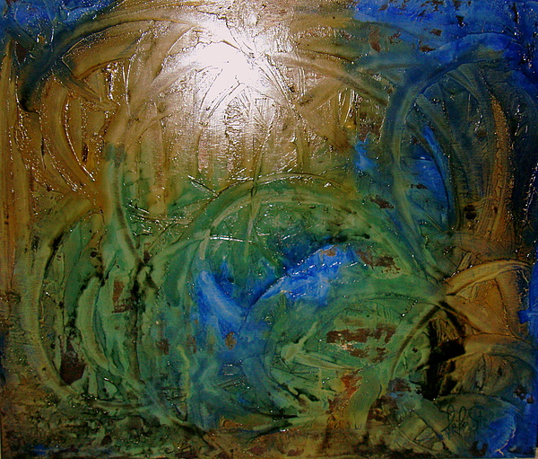 Spiritual Abstrac 18 Painting by Lalo Gutierrez