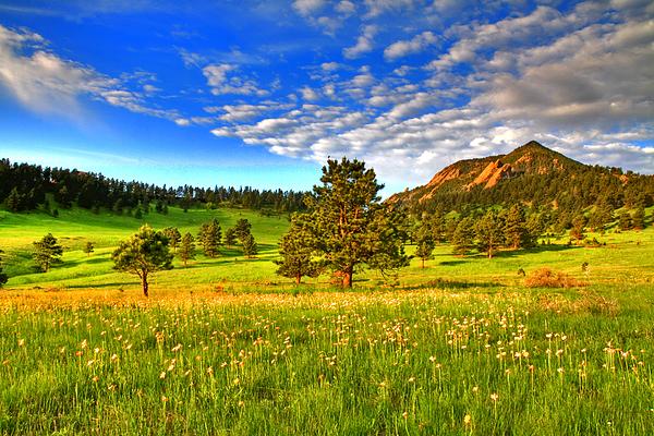 Colorado Photograph - Spiritual Sky by Scott Mahon