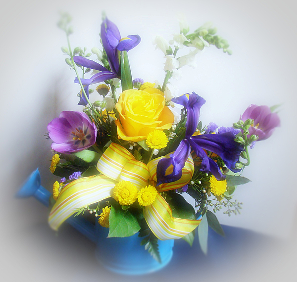Flowers Photograph - Spring Bouquet by Sandy Keeton