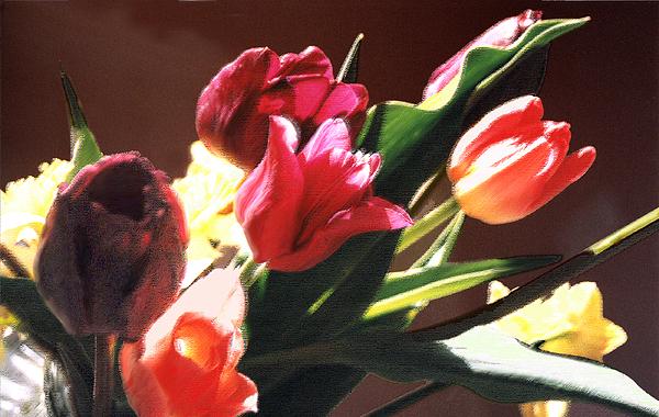 Floral Still Life Photograph - Spring Bouquet by Steve Karol