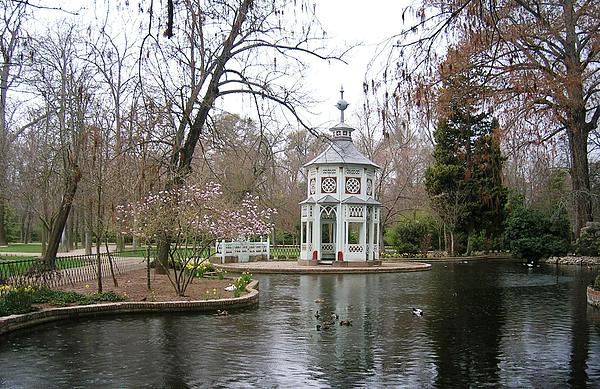 Landscape Photograph - Spring In The Aranjuez Gardens Spain by Valerie Ornstein