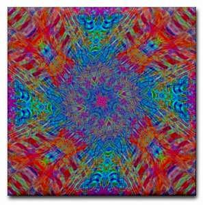 Artwork Digital Art - Spring Twist Art Tile by Jean Petree