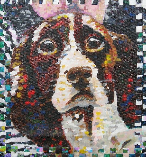 Springer Spaniel Painting - Springer by Denise Landis