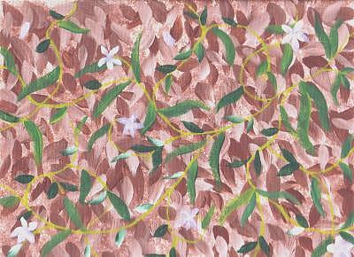 Leaves Painting - Springtime On Brodie by Laurel Leiker