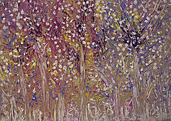 Decor Painting - Springtime Painting by Don  Wright