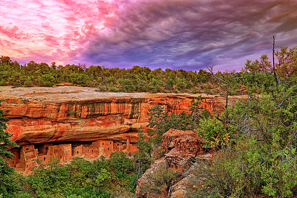 Spruce Tree House Photograph - Spruce Tree House At Mesa Verde National Park - Colorado by Jason Politte