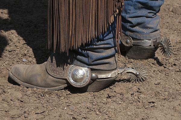 Western Photograph - Spurs N Rowels by Sandra Bronstein