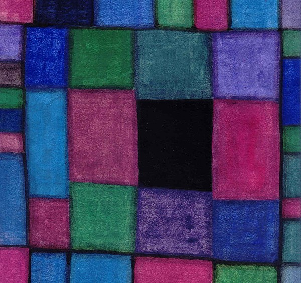 Abstract Painting - Squares II by William Burgess