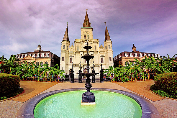 St. Louis Cathedral Photograph - St. Louis Cathedral - New Orleans - Louisiana by Jason Politte